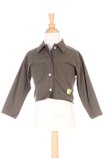 3 et pommes vestes garcon de couleur vert (photo)