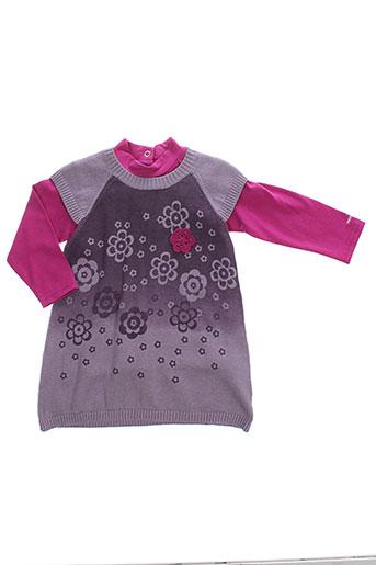 alphabet robes fille de couleur violet