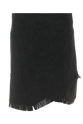 cubic jupes femme de couleur noir