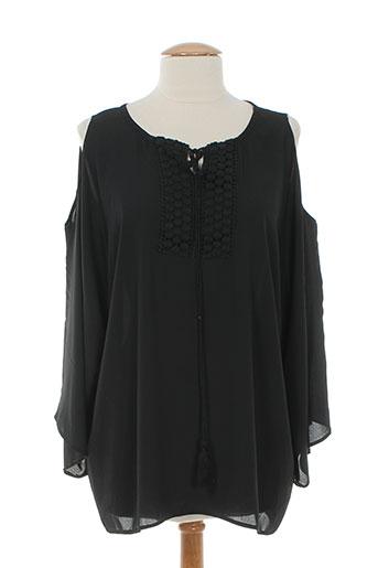 jessie & vanessa chemises femme de couleur noir