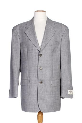 gian alberto caporale vestes homme de couleur gris