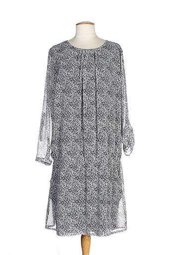 betty and co robes femme de couleur gris