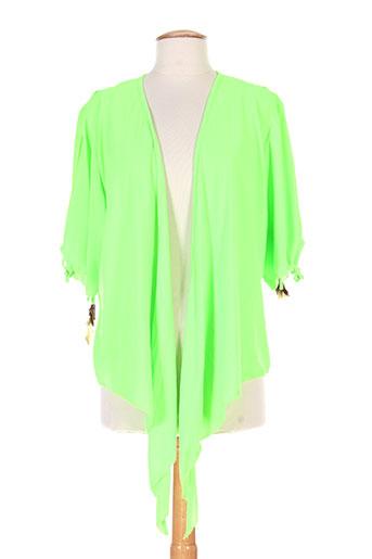 martine sam... vestes femme de couleur vert