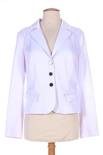 lasagrada vestes femme de couleur blanc