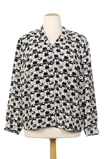 lisa chesnay chemises femme de couleur noir