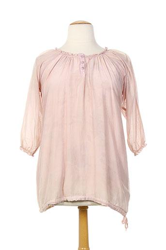 fred sabatier chemises femme de couleur rose