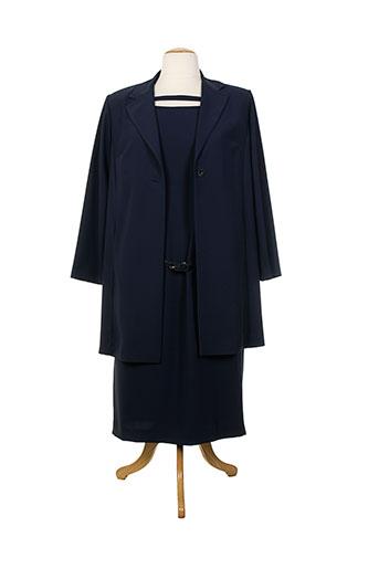 jean biolay ensembles femme de couleur bleu