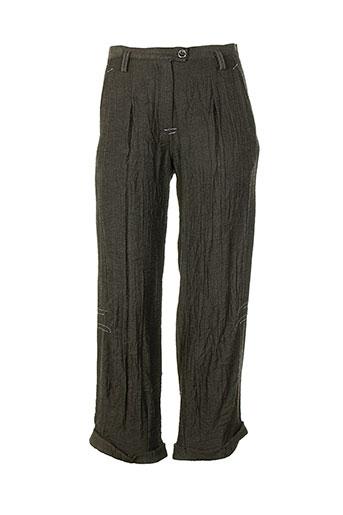 eva tralala pantalons femme de couleur gris