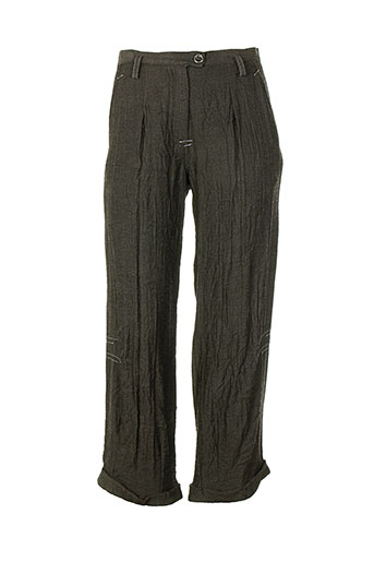 Pantalon casual gris EVA TRALALA pour femme