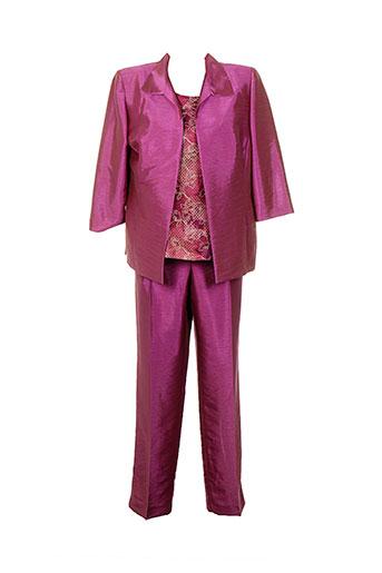 Veste/pantalon rose ATIAN pour femme