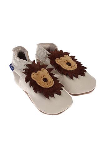 inch blue chaussures garçon de couleur beige