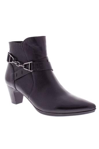 fugitive boots femme de couleur noir