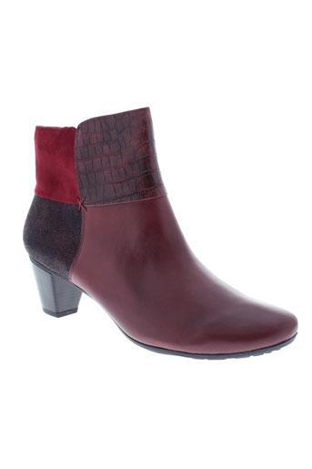 sweet boots femme de couleur rouge