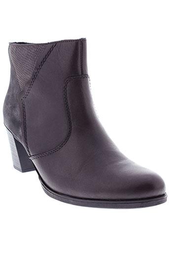 rieker boots femme de couleur marron