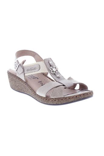 florence sandales et nu et pieds femme de couleur beige