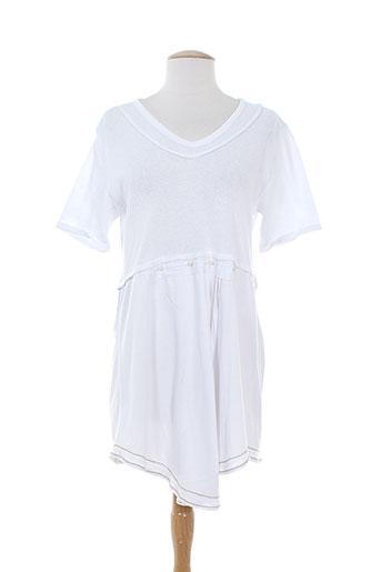 batistame chemises femme de couleur blanc
