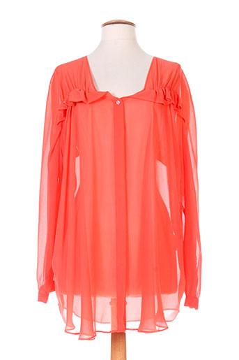 see by chloé chemises femme de couleur orange