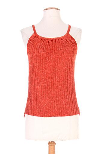 roberto collina chemises femme de couleur orange