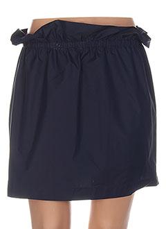 Jupe courte bleu BRANDMAIR pour femme