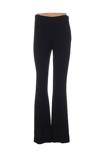 philosophy pantalons femme de couleur noir