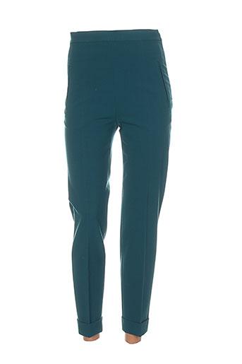 philosophy pantalons femme de couleur vert