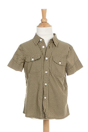 morley chemises fille de couleur vert
