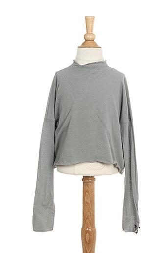 T-shirt manches longues gris ALBUM DI FAMIGLIA pour garçon