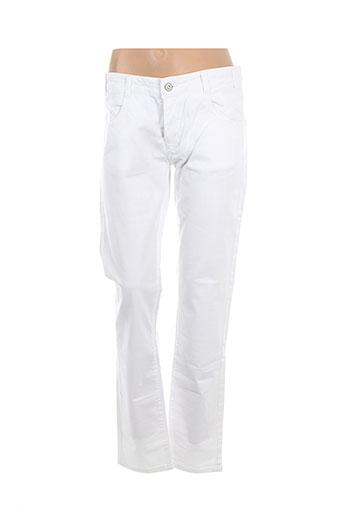 Pantalon casual blanc DANIEL HECHTER pour femme
