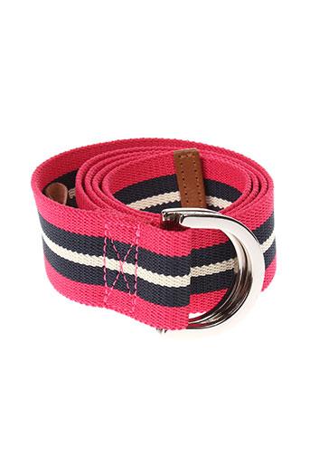 gant accessoires femme de couleur rose