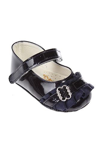 baby chick chaussures fille de couleur bleu