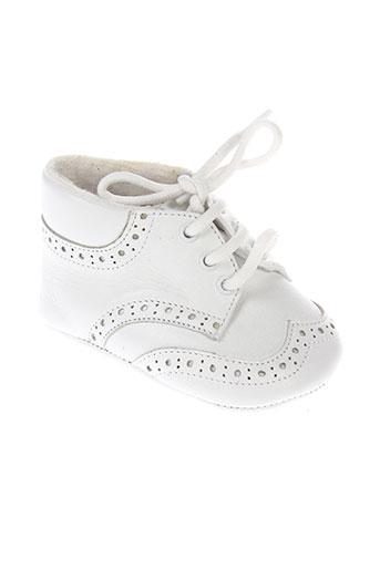 baby et chick chaussons enfant de couleur blanc