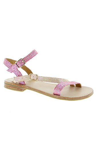 mellow et yellow sandales et nu et pieds fille de couleur rose