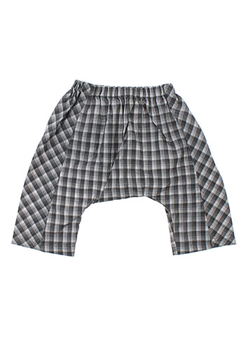 troizenfant pantalons fille de couleur gris