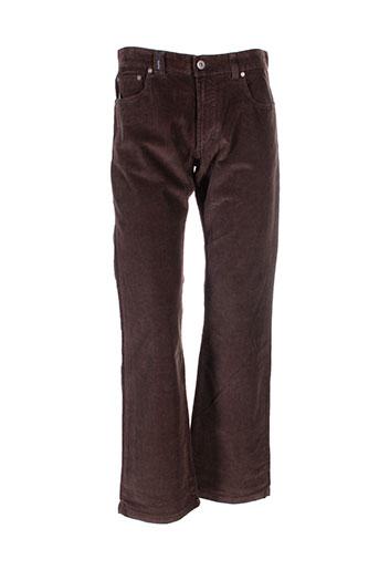 traffic pantalons et decontractes homme de couleur marron