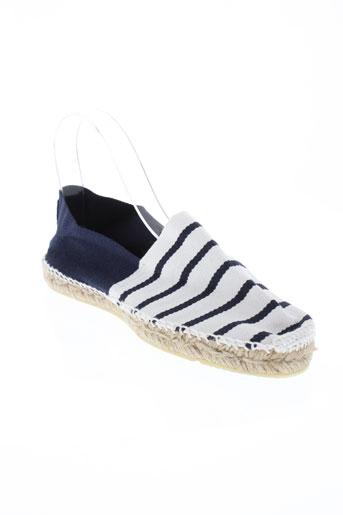 oxbow chaussures homme de couleur bleu