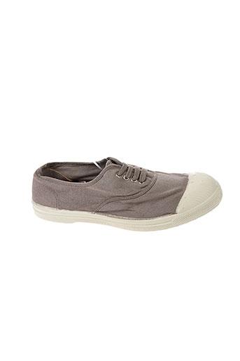 bensimon baskets femme de couleur gris