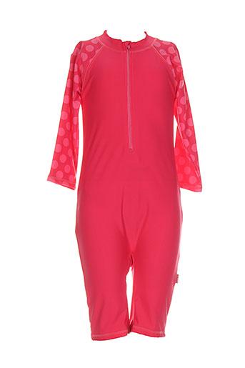 name it maillots de bain fille de couleur rose