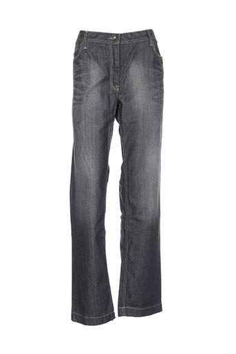 setrak jeans femme de couleur gris