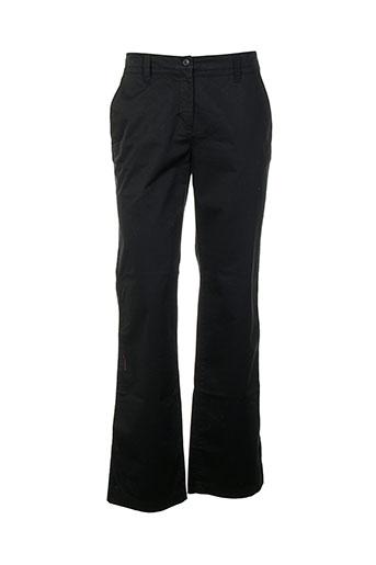 aigle pantalons et decontractes homme de couleur noir