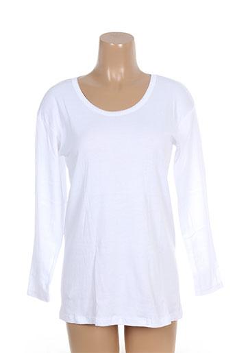 jet tops et caracos femme de couleur blanc