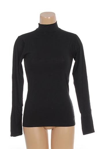 jet tops et caracos femme de couleur noir