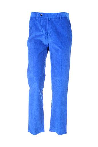 vicomte arthur pantalons homme de couleur bleu