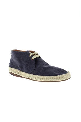 hugo boss chaussures homme de couleur bleu