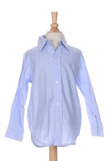 girandola chemises garçon de couleur bleu