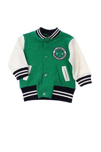 girandola vestes garçon de couleur vert