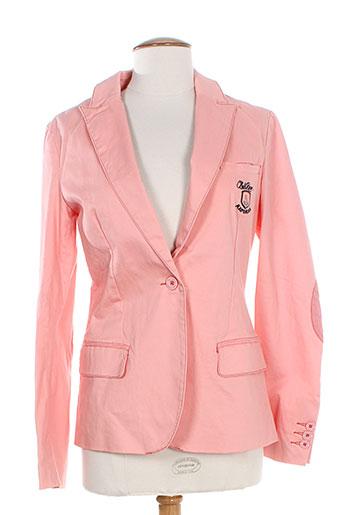 kaporal vestes femme de couleur rose
