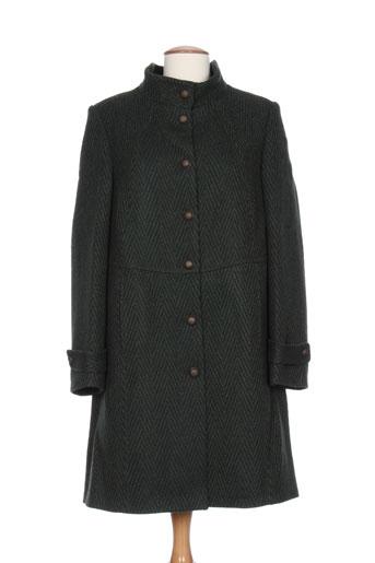 karting manteaux femme de couleur vert