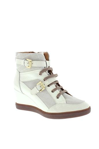 geox boots femme de couleur blanc