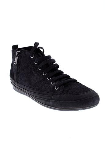 geox baskets femme de couleur noir