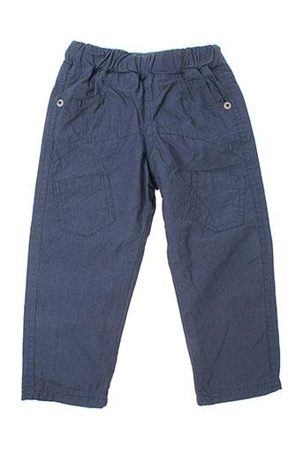 3 et pommes pantalons et decontractes garcon de couleur bleu